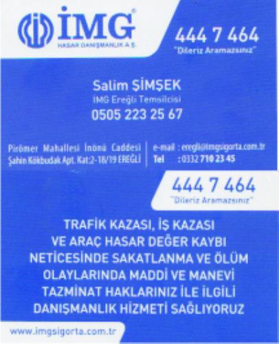 İMG HASAR DANIŞMANLIK AŞ. - Salim Şimşek