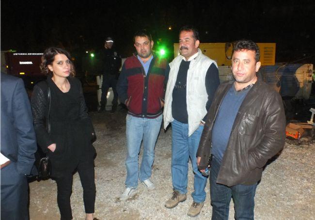 Ermenek'teki Maden Ocağı'na Gittiler