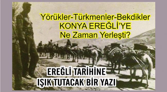 Prof. Dr. Salih Yılmaz, Yörük, Türkmen, Bekdik Tarihini Kaleme Aldı
