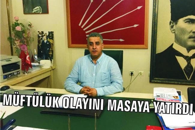 CHP ilçe başkanı Gönülal Ereğli Müftülüğünü Gündemine Aldı!...