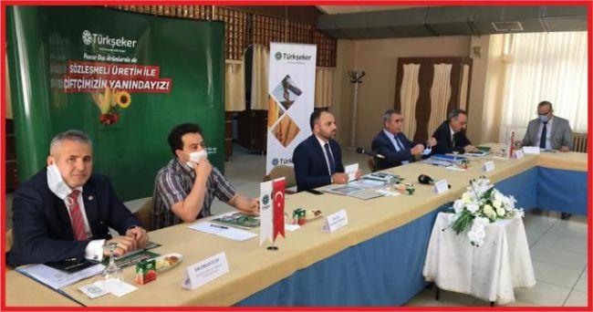 Ereğli'ye Türk Şeker Genel Müdürü Mücahit Alkan geldi