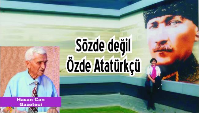 Özgün Utku, Atatürk Sevgisini Her Platformda Gösteriyor