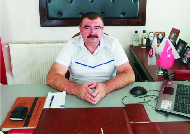 DİSK Kayseri Bölge Temsilcisi Cumali Sağlam'dan Açıklama