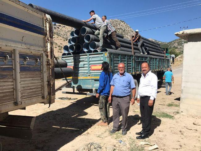 Halkapınar belediye başkanı Mehmet Bakkal, Tolderesi sorununu çözdü