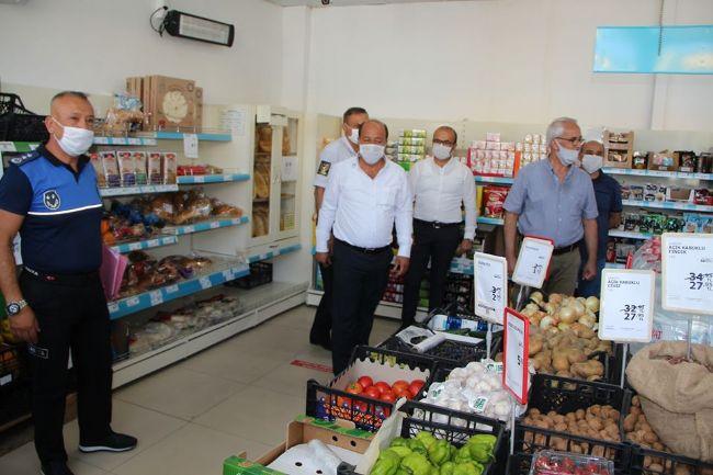 Halkapınar Belediye Başkanı Bakkal Denetime Katıldı