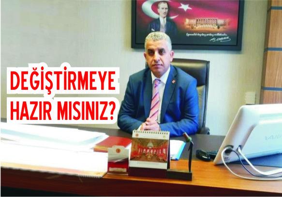 CHP ilçe Başkanı Gönülal, basın açıklaması yaptı