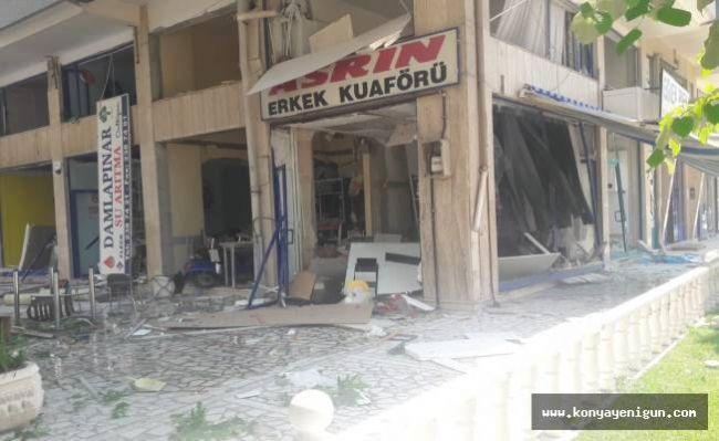 Konya'da büyük patlama