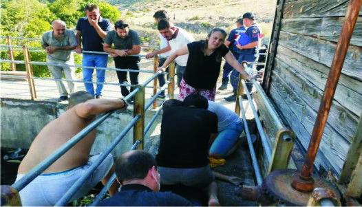 İvriz'de  Kanala Düşen Taha'dan acı haber