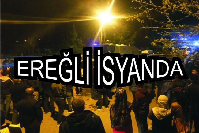 Ereğli halkı Cumhurbaşkanlığı kararına isyan etti