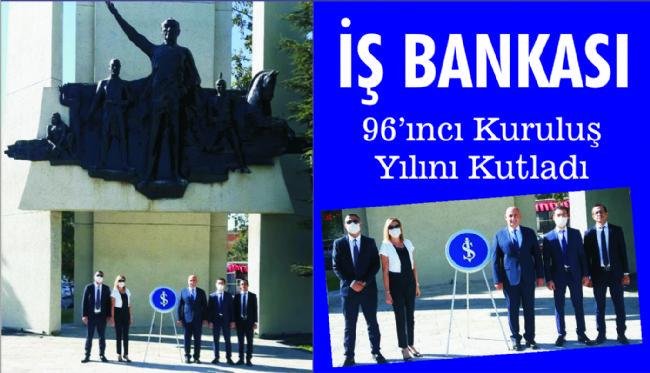 Ereğli İş Bankası kuruluşunun 96. yılını kutladı