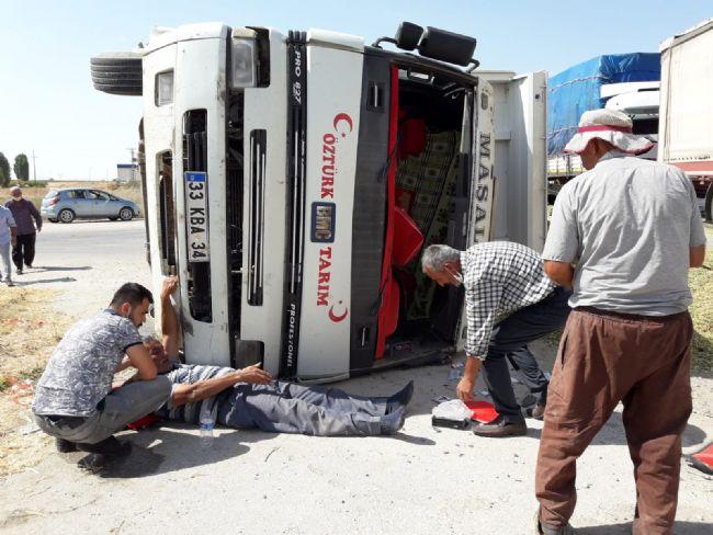 Ereğli'deki kazada ortalık savaş alanına döndü