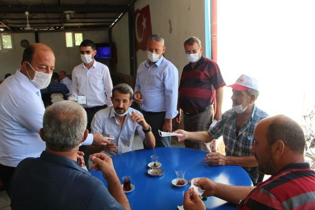 Halkapınar'da 'Cuma Pandemi Farkındalığı' etkinliği düzenlendi