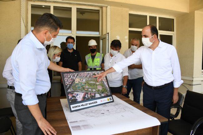 """Başkan Altay: """"Türkiye'nin En Güzel Millet Bahçelerinden Biri Olacak"""""""