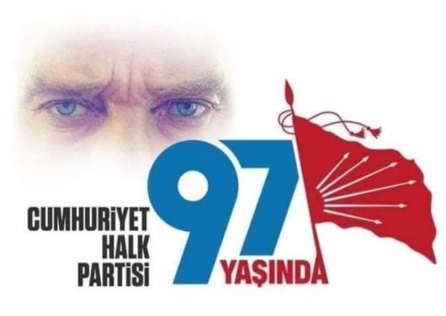 Ereğli CHP İlçe Başkanı Gönülal, CHP'nin 97. Kuruluş Yılını Kutladı