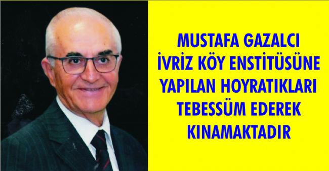 Mustafa Gazalcı İvriz Köy Enstitüsünü Gündeme Aldı
