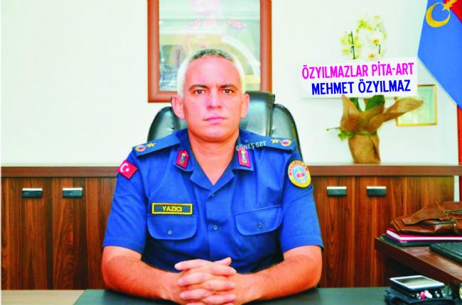 Ereğli Jandarma Bölük Komutanı Yazıcı Binbaşılığa Terfi Etti