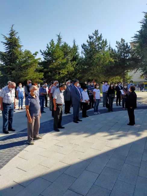 Ereğli CHP İlçe Başkanı Gönülal ve Yönetimi 97. Yıllarını kutladı