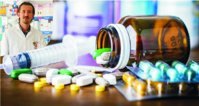 Eczacı Emre Dinç ilaç saklamanın önemli olduğunu söyledi..