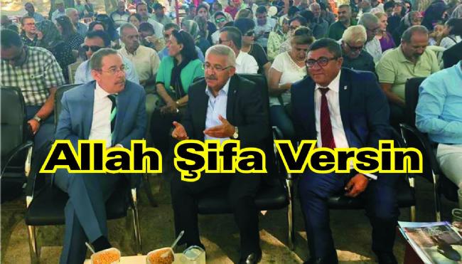 Milletvekili Fahrettin Yokuşa Acil Şifalar Diliyoruz