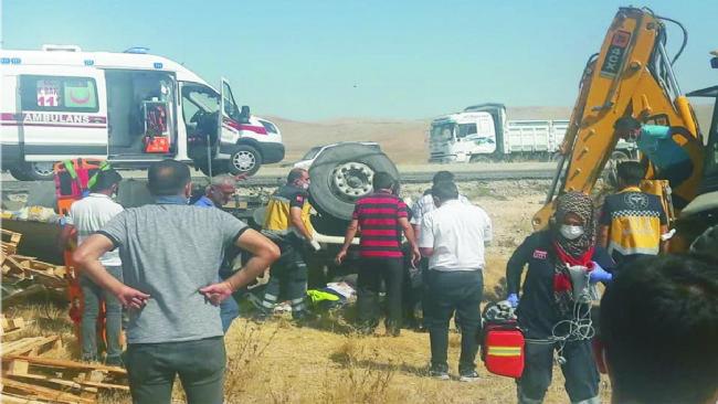 Ereğli yolunda kaza ölümle sonuçlandı