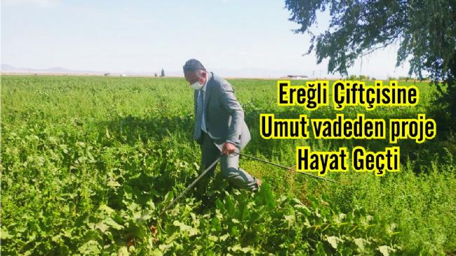 O proje Ereğli'de start aldı