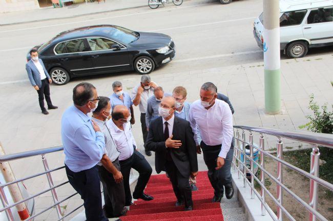 Milletvekili Ahmet Sorgun Halkapınar'a Geldi