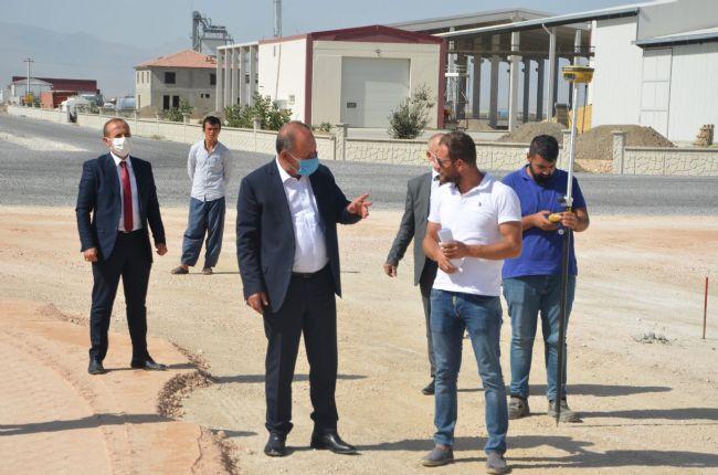 Başkan Oprukçu çalışmaları yerinde inceledi