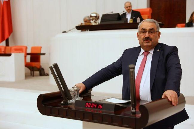 Milletvekili Halil  Etyemez Basın Açıklaması Yaptı