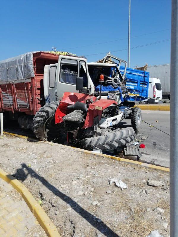 Ereğli'de yaşanan kazada traktör sürücüsü yaşamını kaybetti