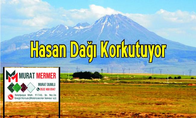 Ereğli sınırındaki Hasan Dağı Ereğli'nin gündeminde