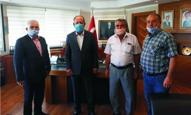 Ereğli'ye yapılacak kamyon ve tır garajının imzaları atıldı