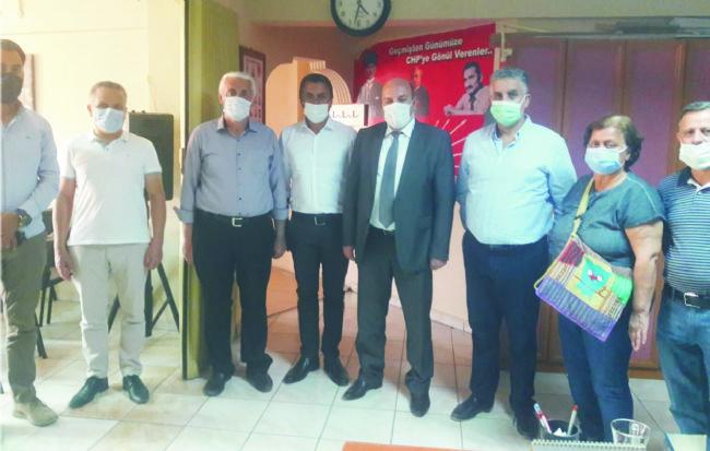 Ereğli kaymakamı Çakıcı'dan CHP'ye ziyaret