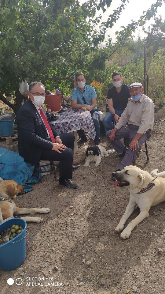 Tarım Müdürü Orhan Soylu Rahim Demirbaş Ormanına Gitti