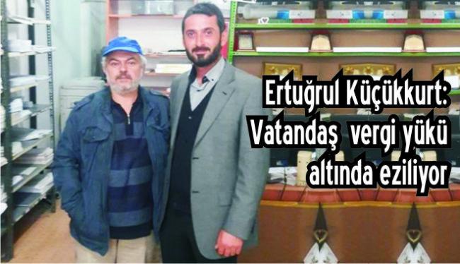 """SP  Ereğli İlçe Başkanı Küçükkurt: """"Bu yük çok ağır!"""""""