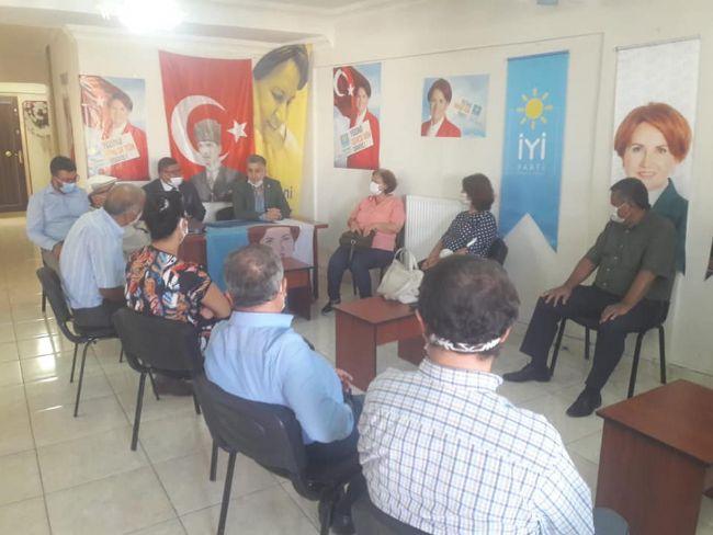 Ereğli CHP'den İYİ Partiye Ziyaret
