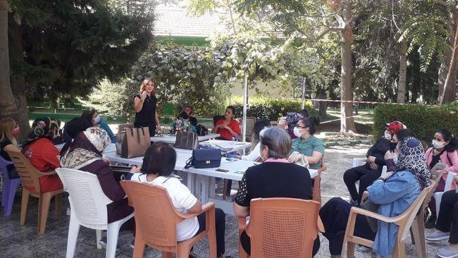 İYİ Parti Konya Kadın Kolları Başkanı Zuhal Ehliz Ereğli'ye Geldi