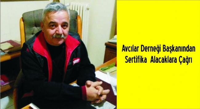 Mehmet İnce: Sertifika alacaklar Halk Eğitim'e Müracaat Etsin