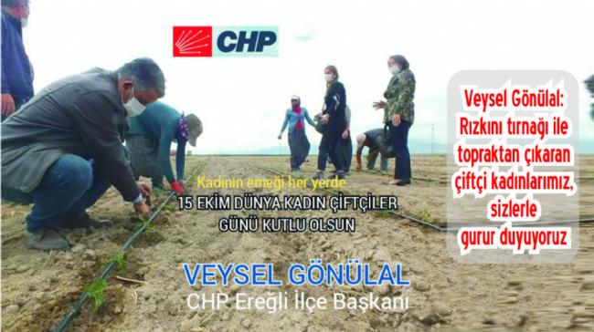 Veysel Gönülal'dan Çiftçi Kadınlara...