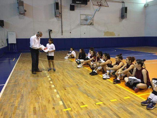 Ereğli Gençlik Spor İlçe Müdürü Cumaali Özince Antremanları İzledi