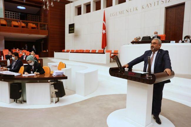 Milletvekili Halil Etyemez, TBMM Genel Kurulu'nda Konuştu