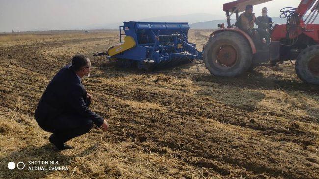 Ereğli İlçe Tarım Belceağaç'ta Uygulama Yaptı