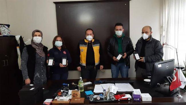 Mahir Kaymak 112 ASHİ ekip çalışanlarını unutmadı