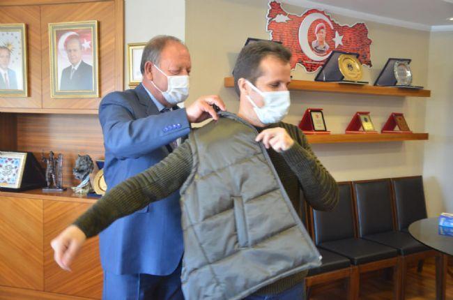 Başkan Oprukçu Filyasyon ekibine jest yaptı