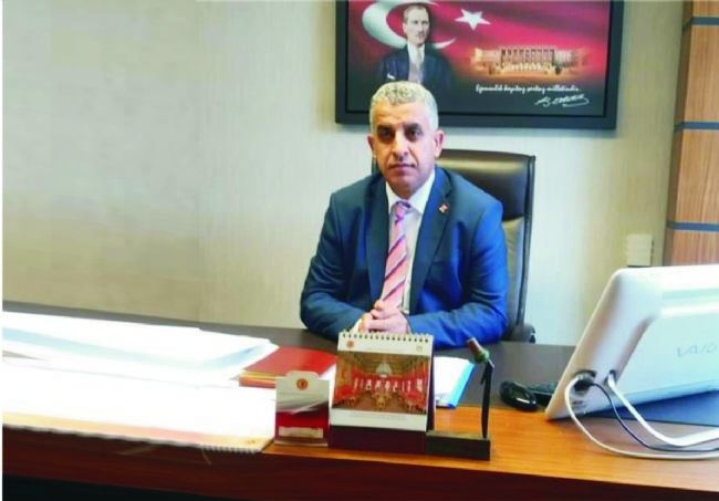 CHP İlçe Başkanı Veysel Gönülal basın açıklaması yaptı