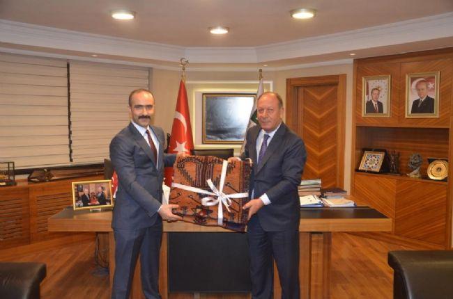 MHP Ankara İl Başkanı'ndan Başkan Oprukçu'ya ziyaret