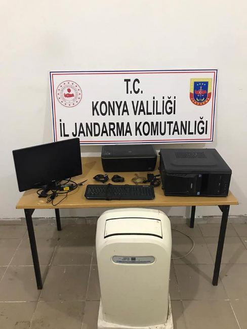 JASAT Ereğli'de Elektronik eşya hırsızlarını yakaladı