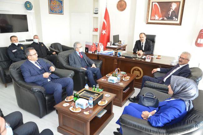 Ereğli Cumhuriyet Başsavcısı Akkiraz, Makamında  Protokolü Kabul Etti