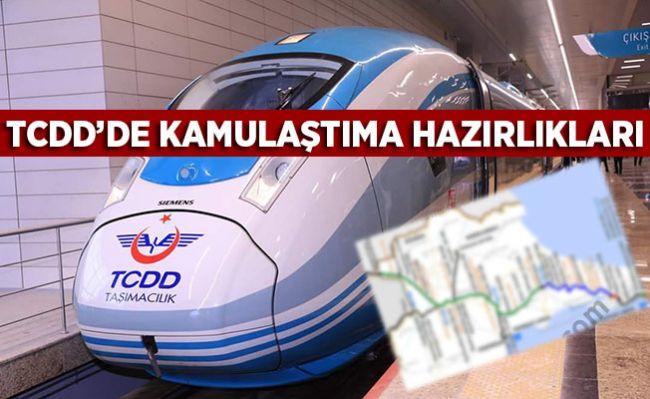 TCDD KAMULAŞTIRIYOR