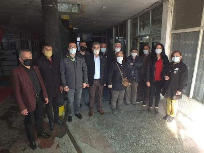 CHP'DEN GÜNEŞ GAZETESİ SAHİBİ BAHRİ CAN'A ZİYARET