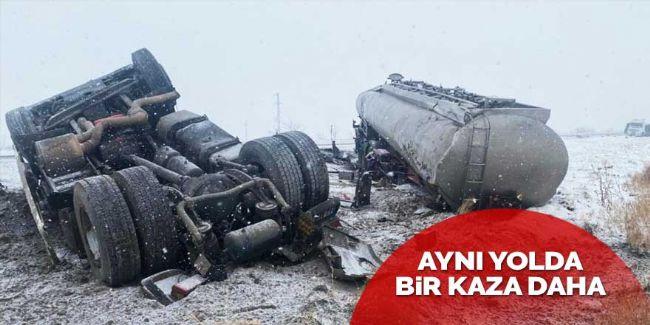 Konya-Ereğli yolunda bir kaza daha!
